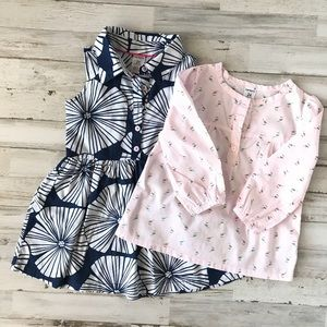 *Carters dress and top Size 2 bundle. Great cond.